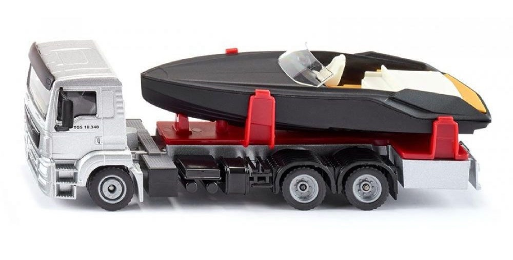 Siku #2715 1/50 MAN LKW with Motorboat