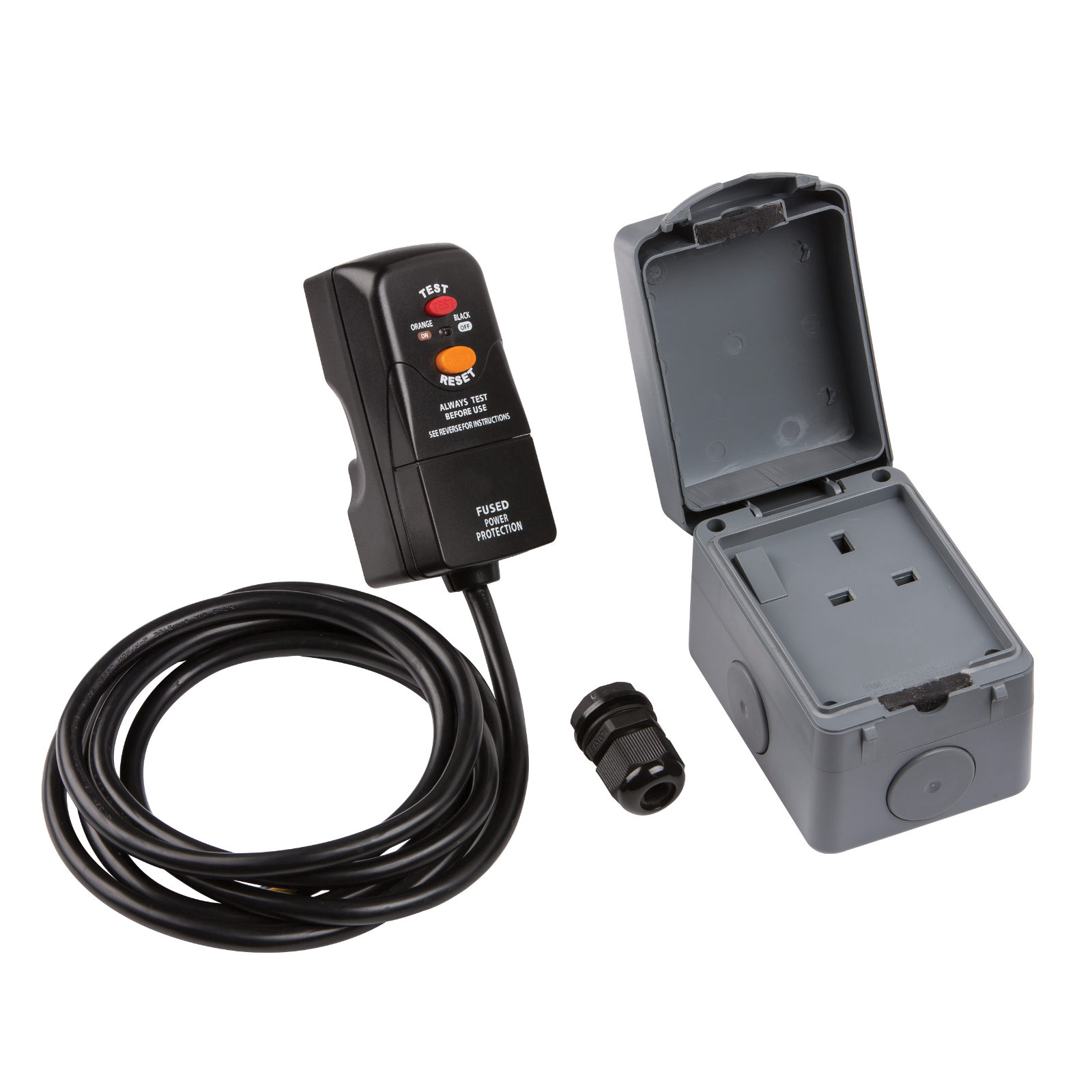 IP66 OUTDOOR SOCKET KIT