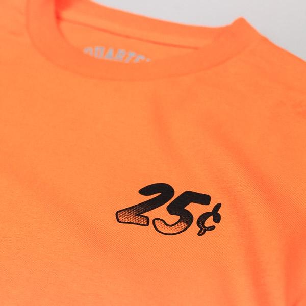 Quartersnacks Snackman Flyer LS Tshirt Orange