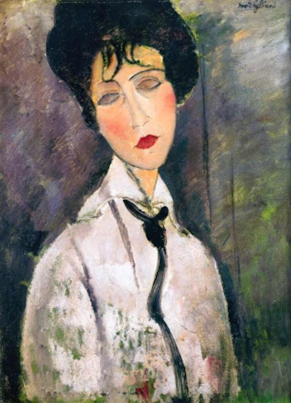 The Art Bar - Modigliani, Face of Modernism - Saturday, November 30 at 6.30 PM - 9:30 PM