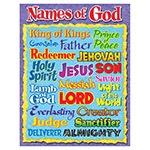 T 38703 NAMES OF GOD CHART