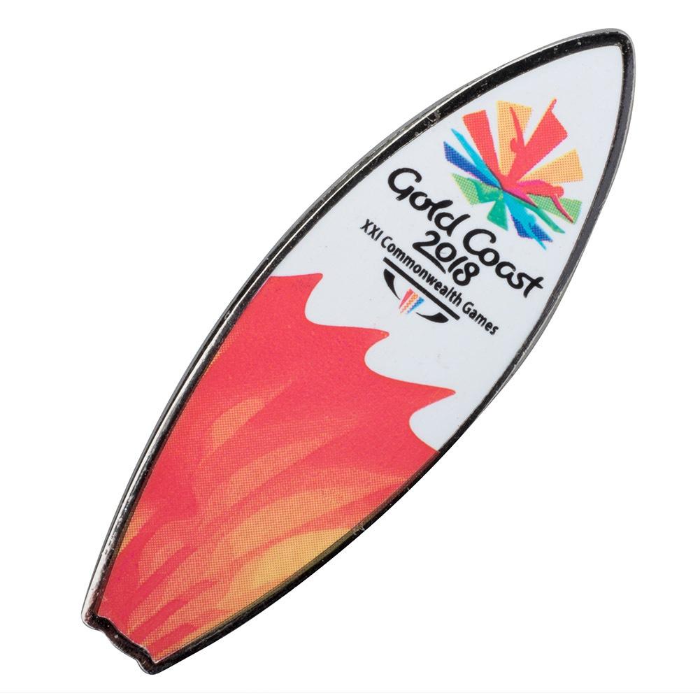 CG 2018 Surfboard Pin Sun