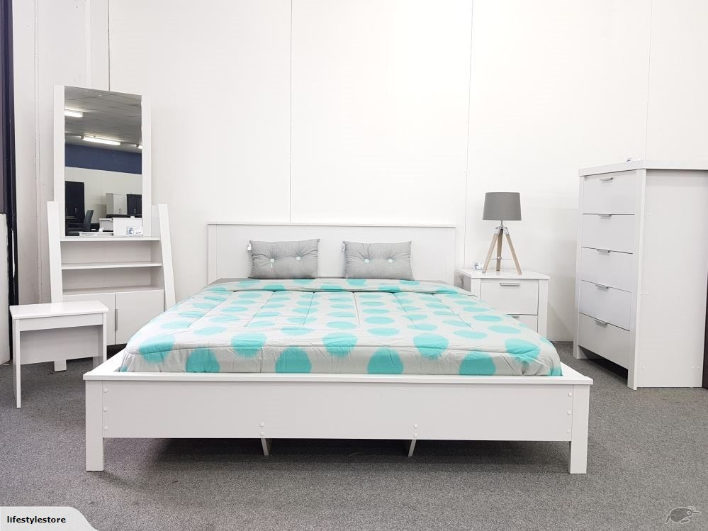 White Bedroom Furniture Nz safari white bedroom set | bedroom suites | lifestyle furniture