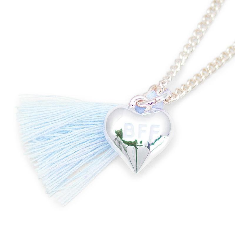 Lauren Hinkley Blue BFF Tassel Necklace