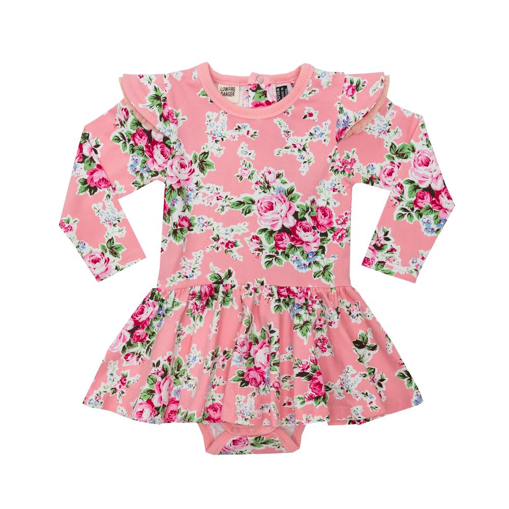 Pink Maeve Baby Waisted Dress