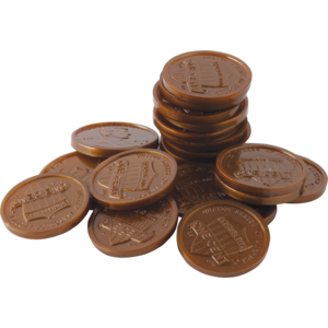 X TCR 20653 PLAY MONEY PENNIES
