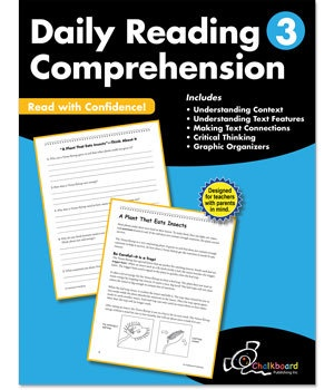 CTP 8183 DAILY READING COMPREHENSION GR.3