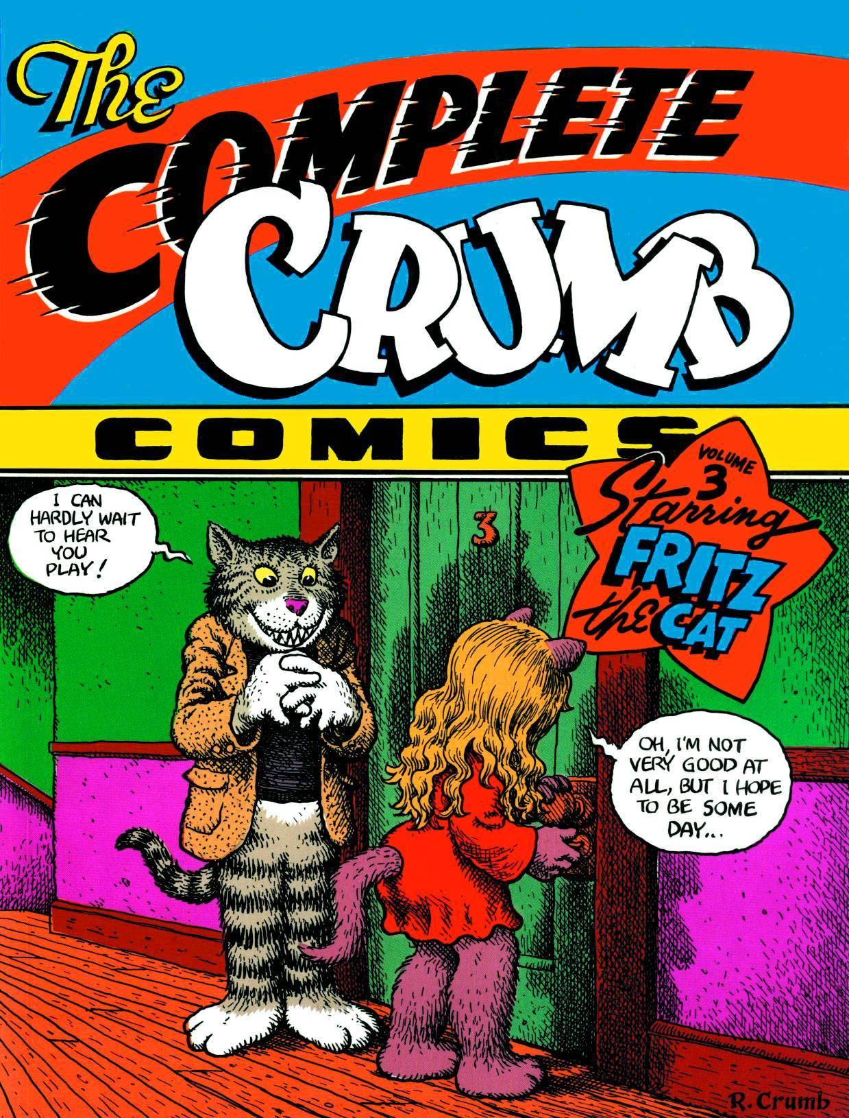 Complete Crumb Comics Vol 03 Fritz Cat (MR)
