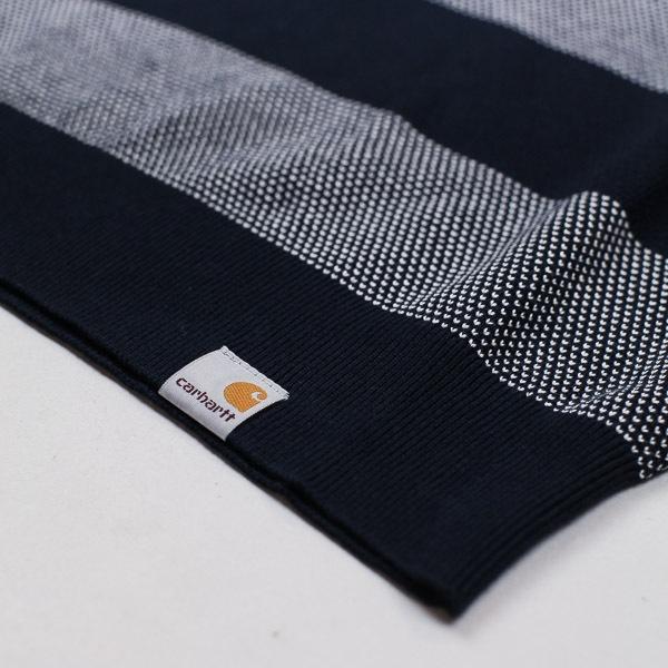Carhartt W.I.P. Atlantic Knit Sweater Navy / White