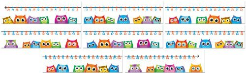 CD 110266 COLORFUL OWLS NUMBER LINE MINI BBS