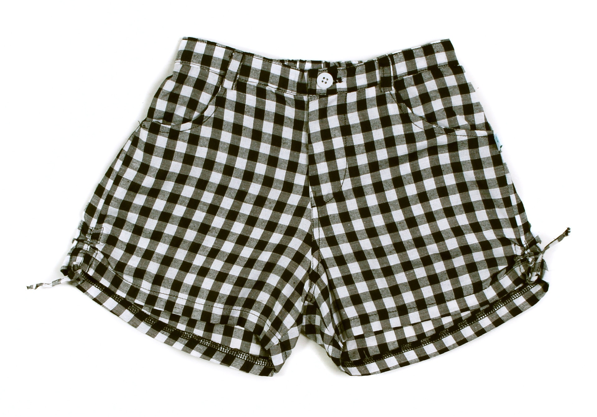 Alex&Ant Gingham Shorts Black