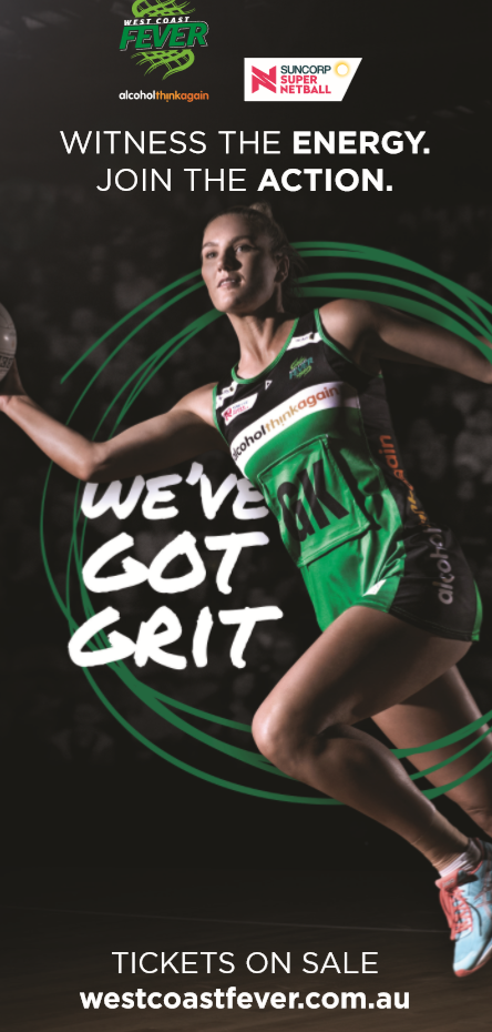 West Coast Fever Player Banners - Small
