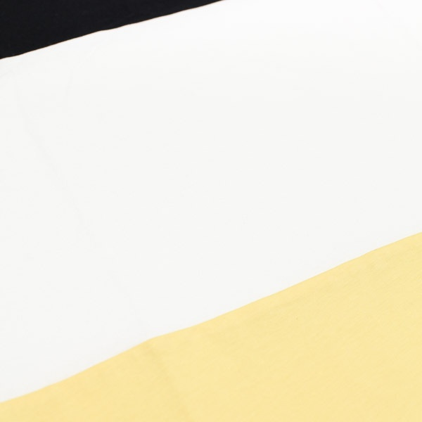 Butter Goods Tri Block Tshirt Black/White/Yellow
