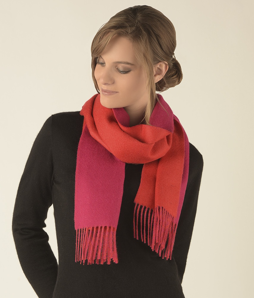 Double face scarf C053