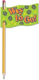X NS 2601 WAY TO GO PENCIL FLAG