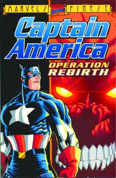 Captain America TP Operation Rebirth New Ptg