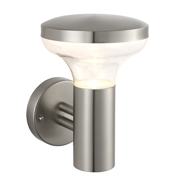 Roko wall IP44 3.5W cool white - marine grade brushed stainless steel