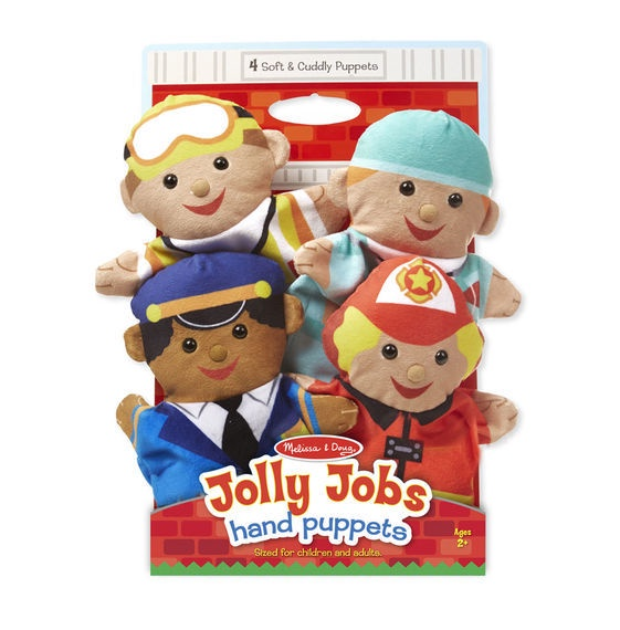 X MD 9086 JOLLY HELPERS HAND PUPPETS
