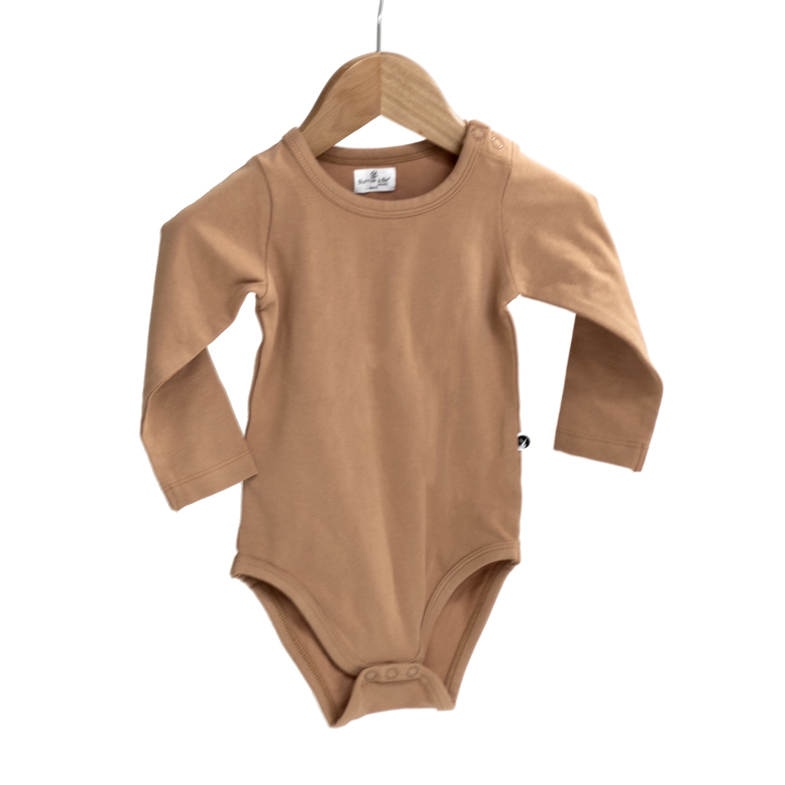 ESSENTIAL SLEEP SUIT - TAWNY BROWN