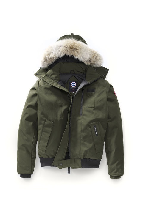 Canada Goose | 7968M | Borden Bomber | Military Green | Online | H.R. Lash