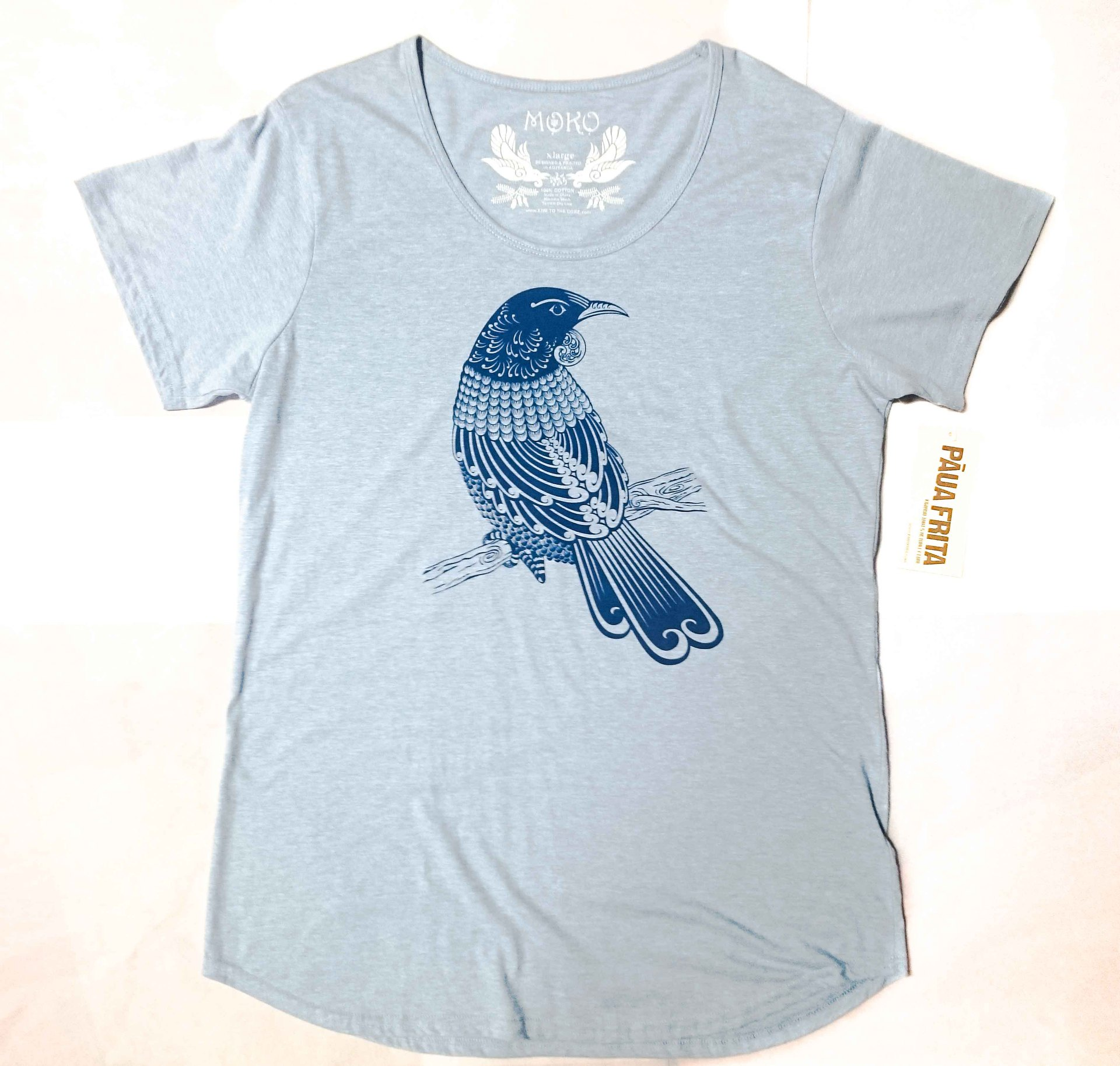 Tui S/S T-Shirt Heathered Blue