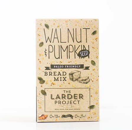 The Larder Project Walnut Pumpkin Seed Bread Mix