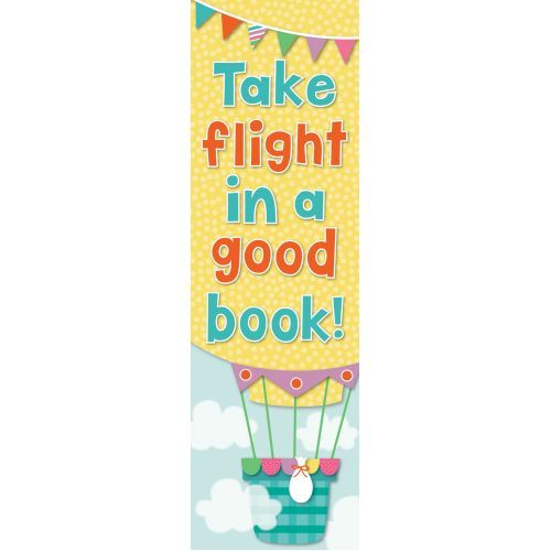 CD 103154 UP AND AWAY BOOKMARK