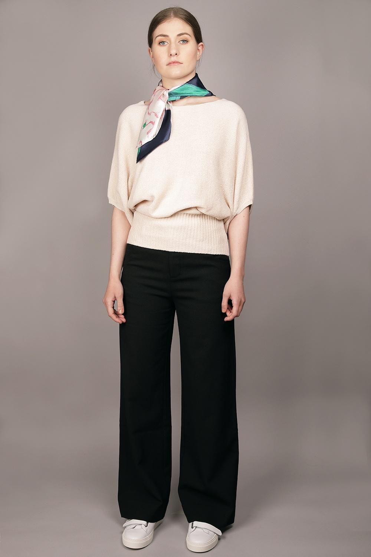 Cathrine Hammel - Velvet Rounded Sweater Image