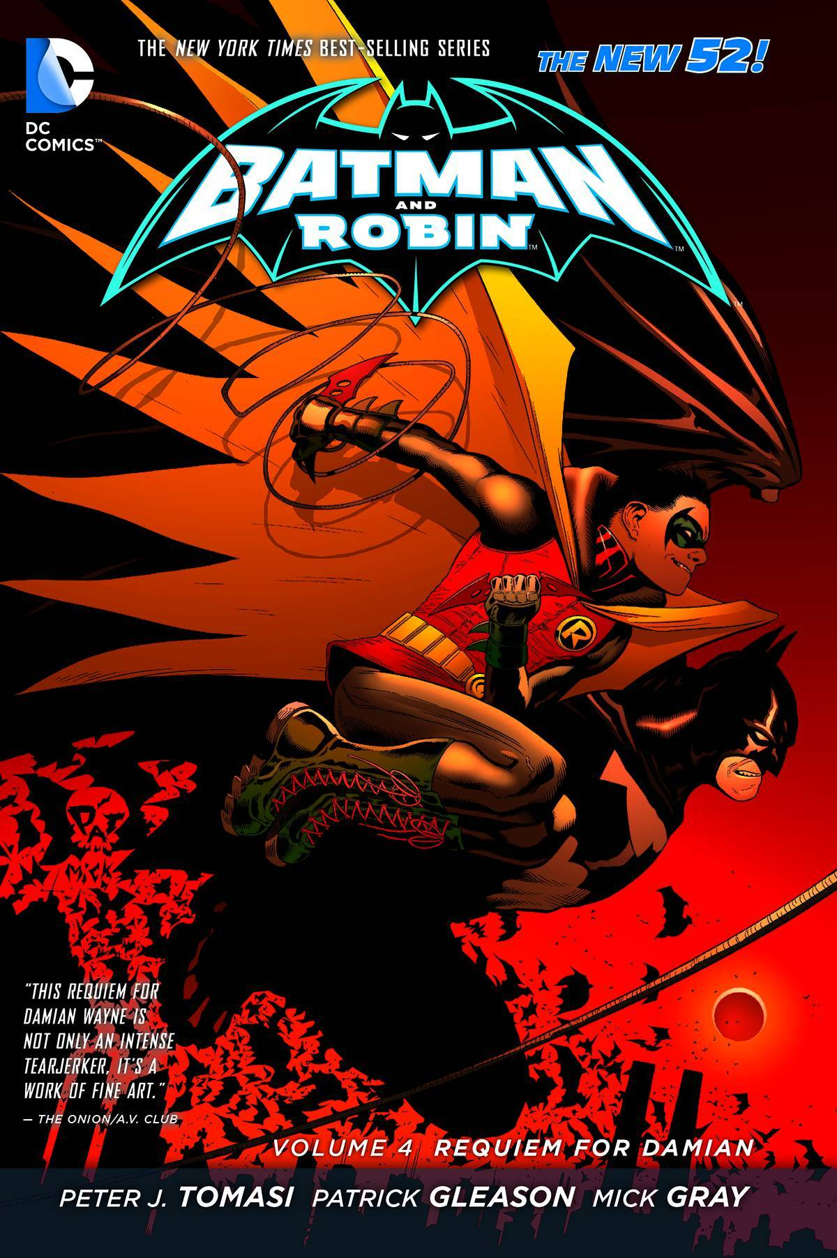 Batman & Robin Vol 04 Requiem For Damon (N52)