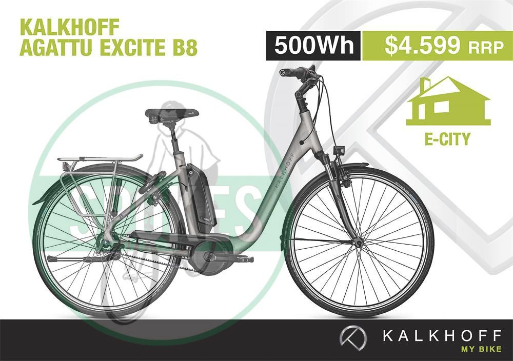 kalkhoff e bike agattu excite b8 electric bikes spokes. Black Bedroom Furniture Sets. Home Design Ideas