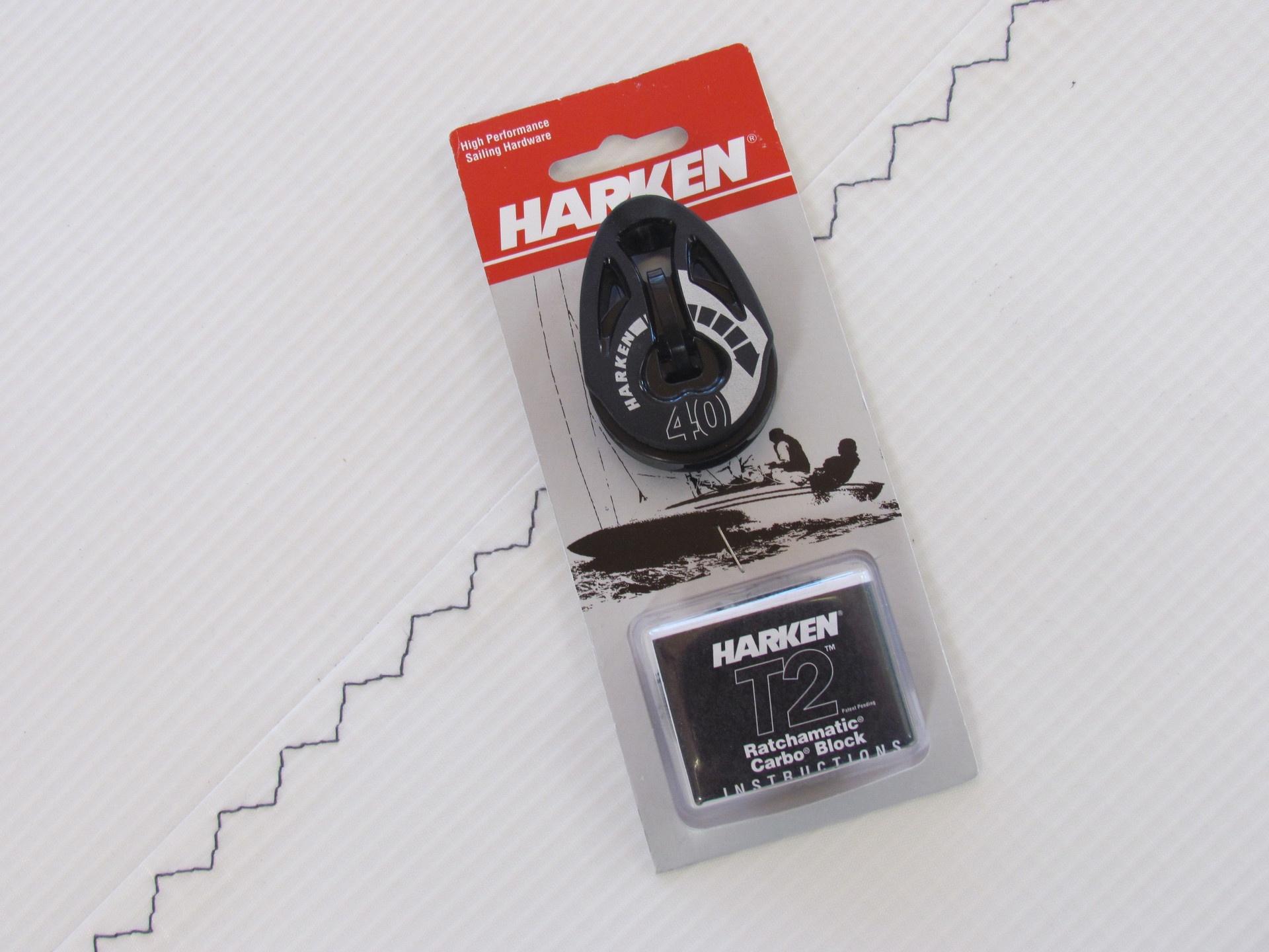Harken 40mm Carbo T2 Auto Ratchet Block