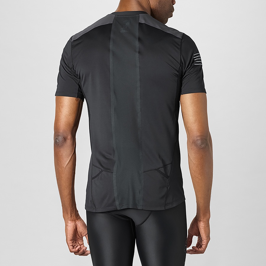 04705677a6 Salomon - Fast Wing HZ SS Tee M - FW18 Black/Forged Iron