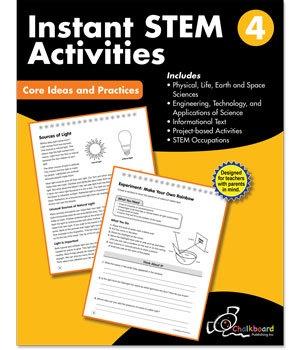 CTP 8196 INSTANT STEM ACTIVITIES GR. 4