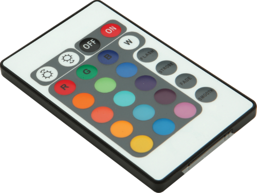 RGB INFRA RED REMOTE CONTROL UNIT