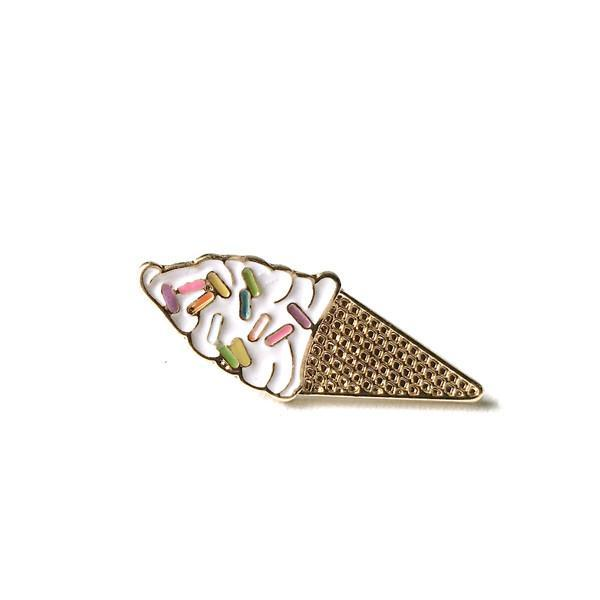 Lauren Hinkley Ice Cream Pin