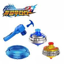 SUPER SPIN COMBINER-YELLOW & BLUE TRAINING SET