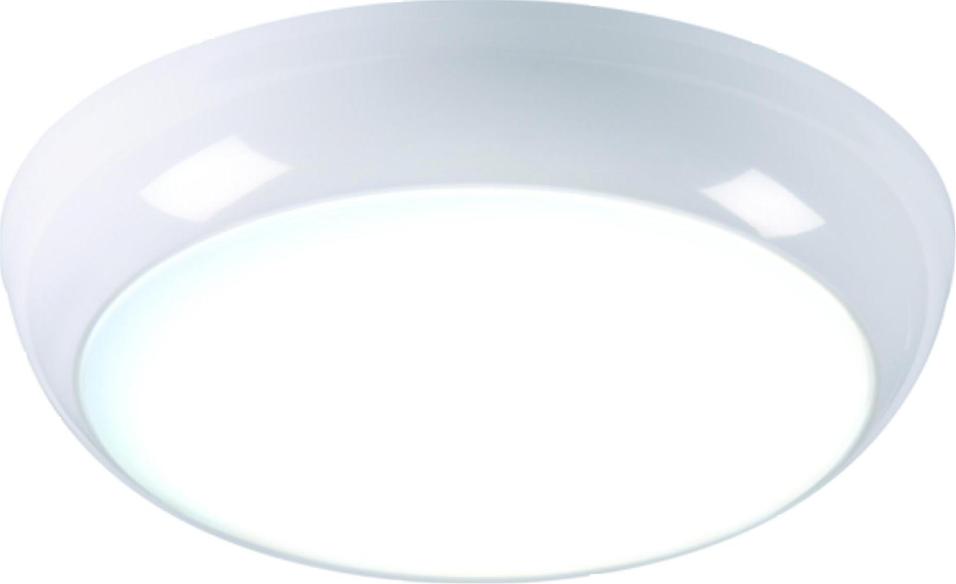 230V IP44 14W LED Bulkhead with Sensor 6000K