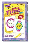 X T 58004 TELLING TIME MATCH ME CARDS