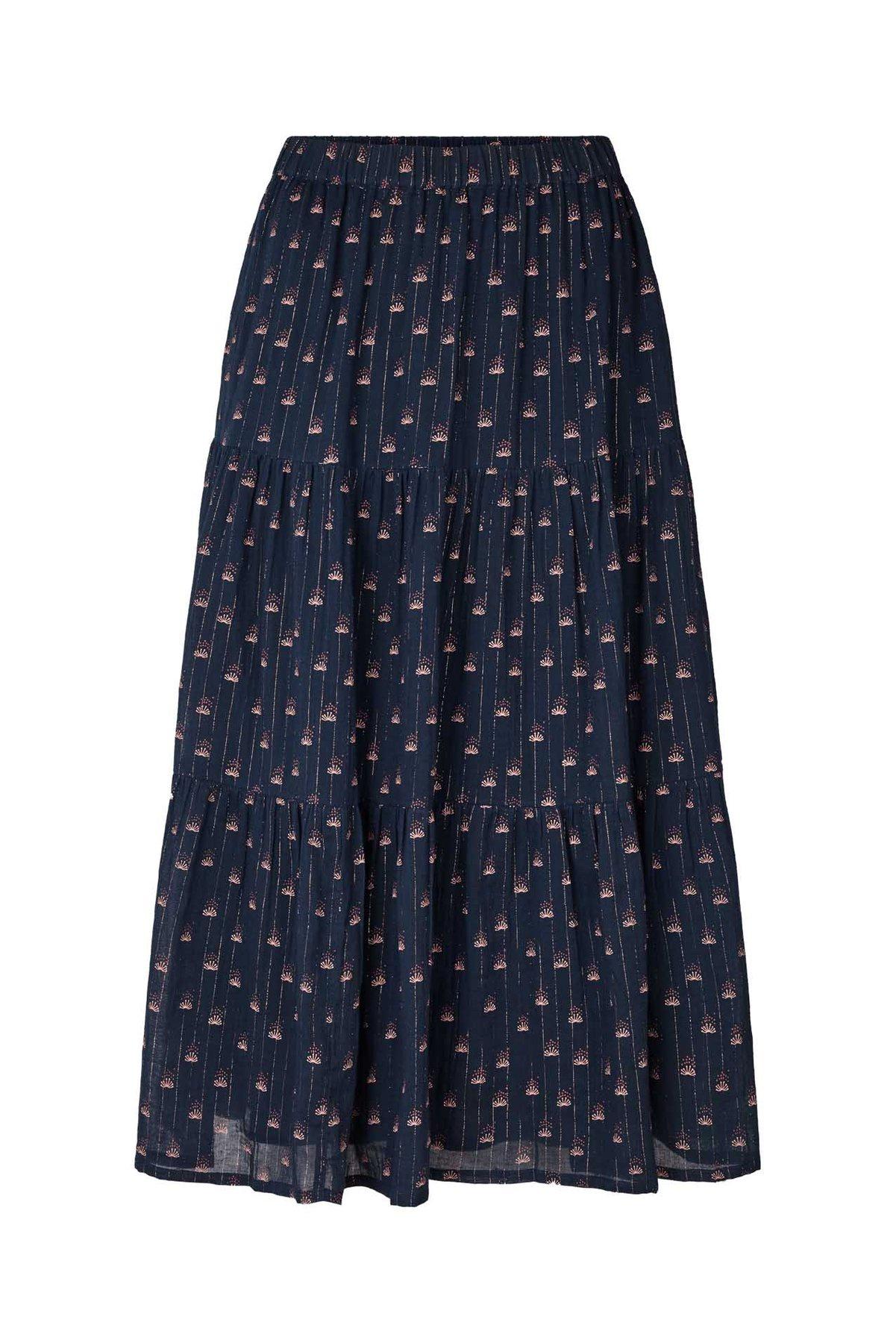 Morning skirt - Navy print