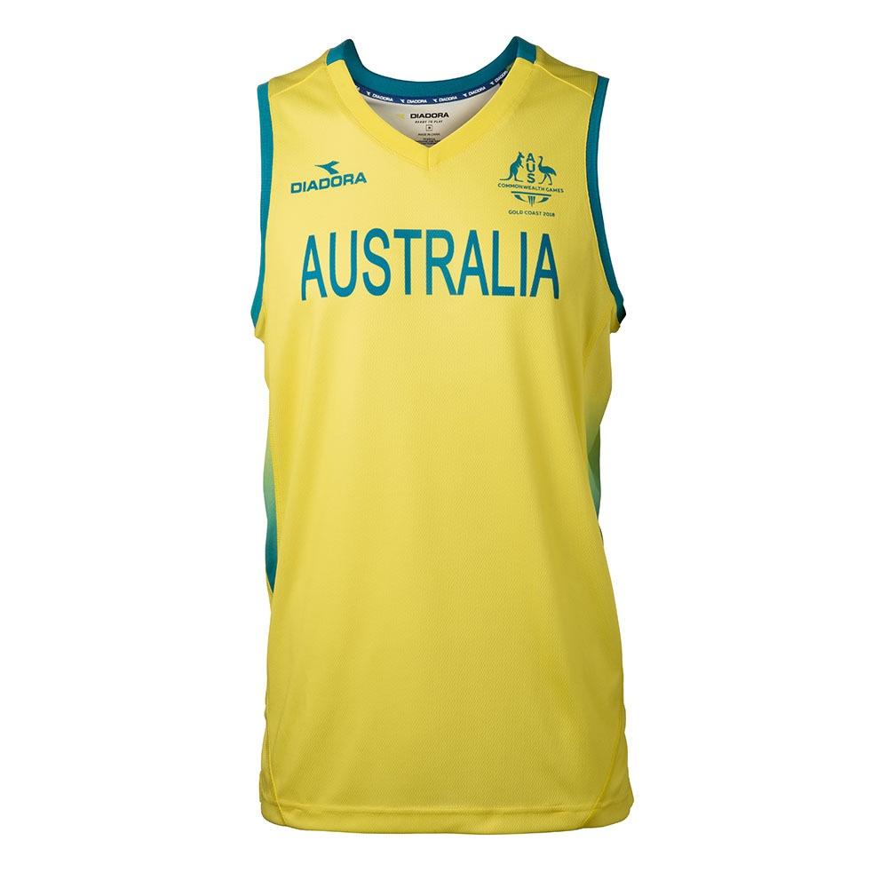 Team Australia Replica Basketball Jersey