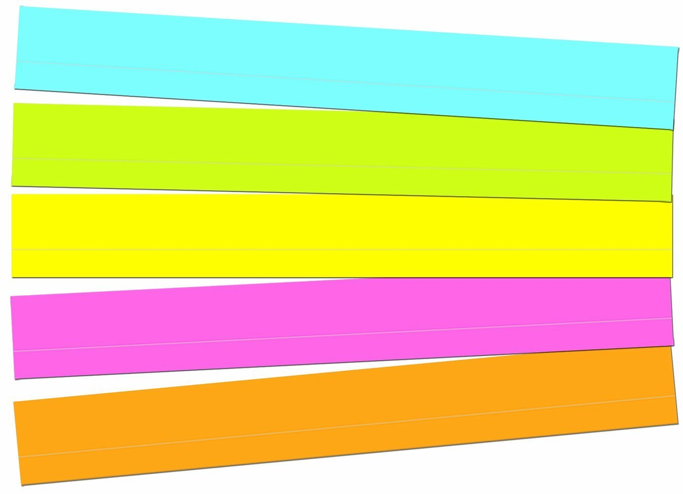 CD 4451 MULTICOLORED LINED SENTENCE STRIPS