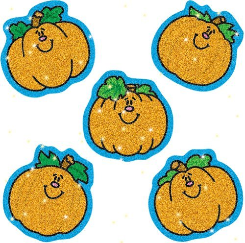 CD 2917 PUMPKINS DAZZLE STICKERS