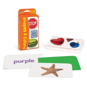 T 23007 SHAPES AND COLOR POCKET FLASH CARDS