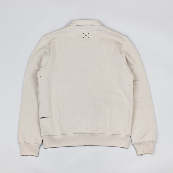 Pop Trading Company Full Zip Fleece Khaki