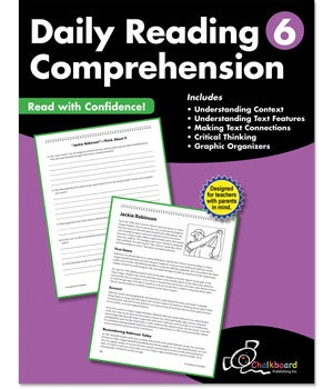 CTP 8186 DAILY READING COMPREHENSION GR.6
