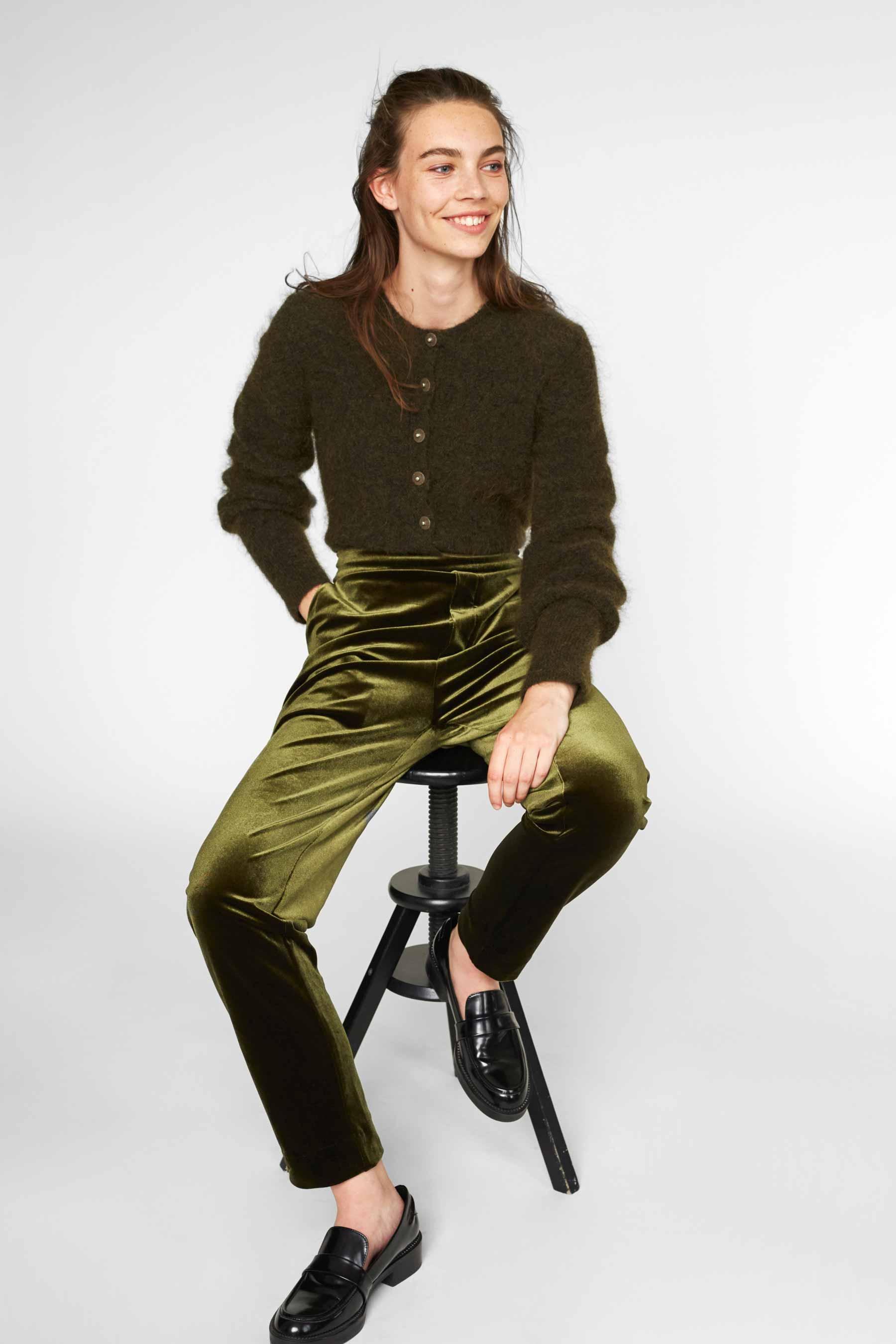 Cathrine Hammel  - Velvet Pants - 1055