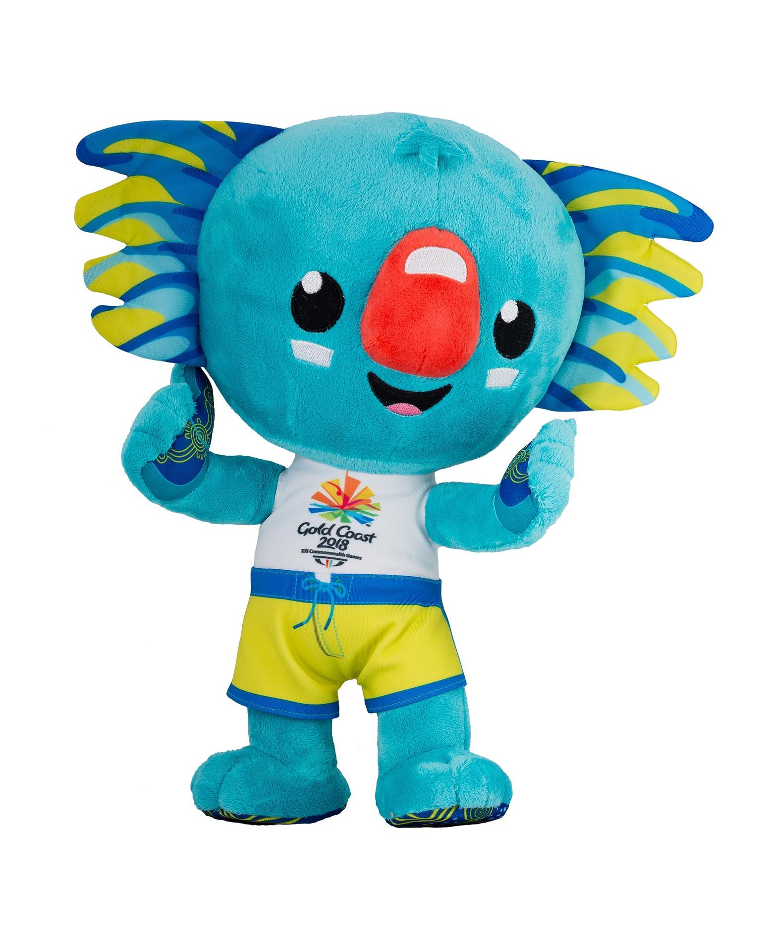 30cm Borobi Mascot Plush Toy Image