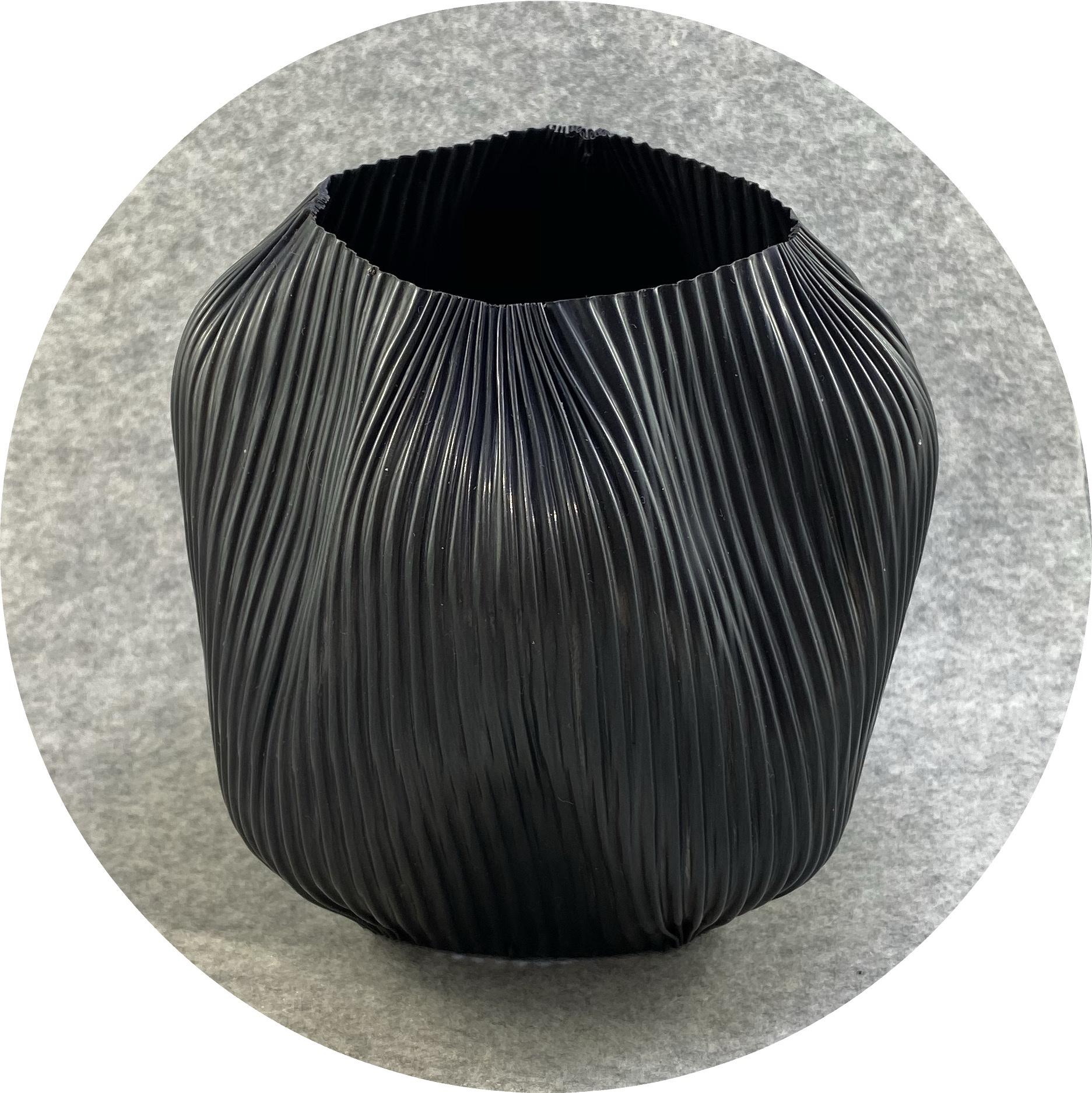 Ann Welton - 'Seed Pod', copper