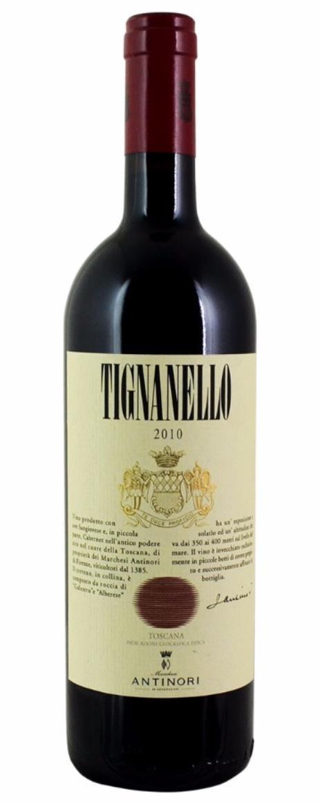 2010 75CL Antinori, Tignanello