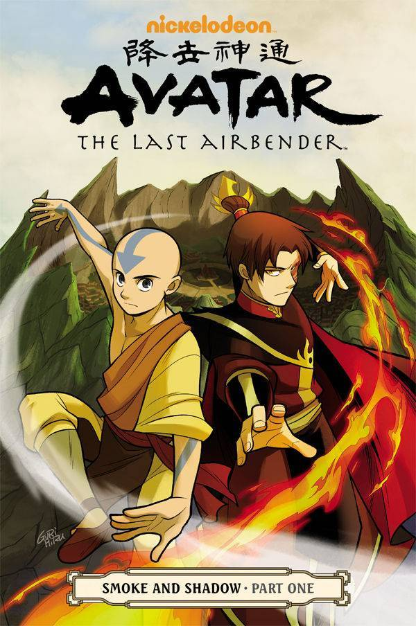 Avatar Last Airbender Vol 10 Smoke & Shadow Part 1
